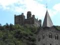 Burg Maus und Kirche Sankt Martin